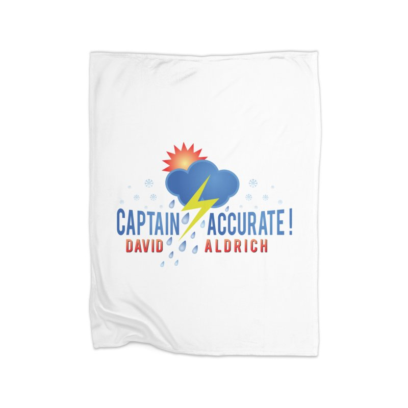 Captain Accurate Home Blanket by Captain Accurate's Artist Shop