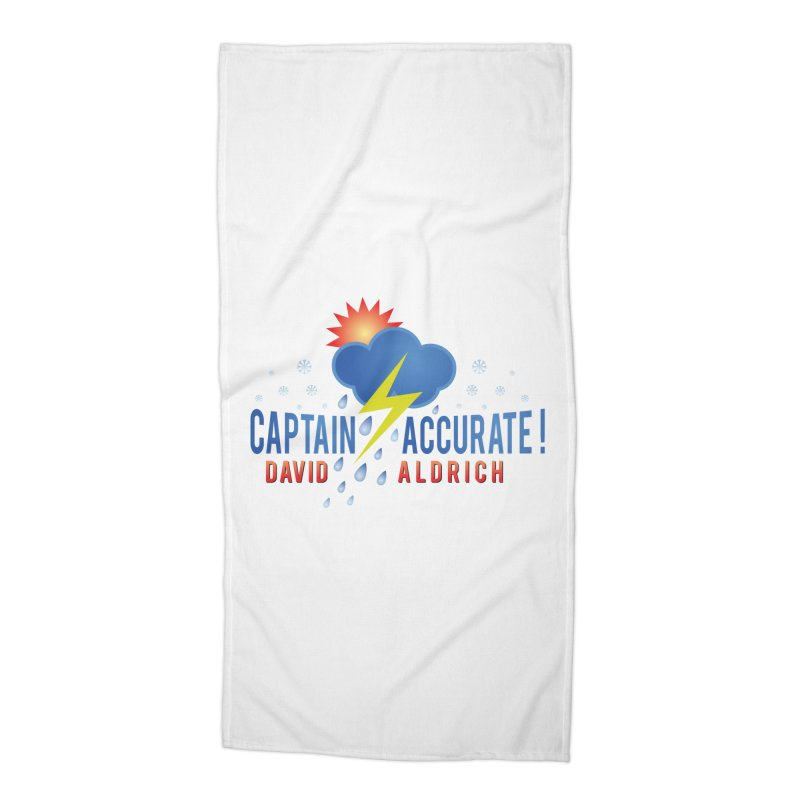 Captain Accurate Accessories Beach Towel by Captain Accurate's Artist Shop