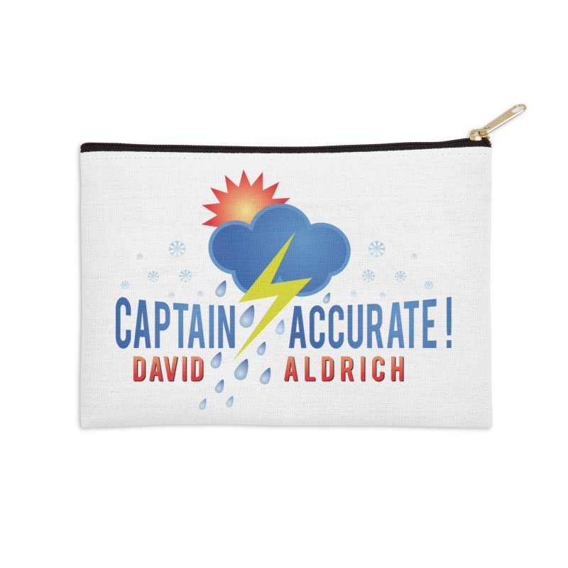 Captain Accurate Accessories Zip Pouch by Captain Accurate's Artist Shop