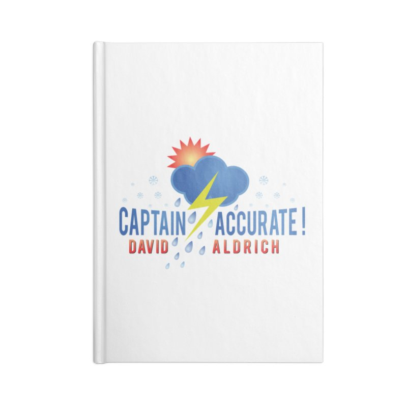 Captain Accurate Accessories Blank Journal Notebook by Captain Accurate's Artist Shop