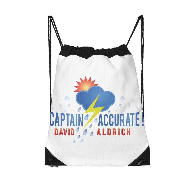 Captain Accurate Accessories Drawstring Bag Bag by Captain Accurate's Artist Shop