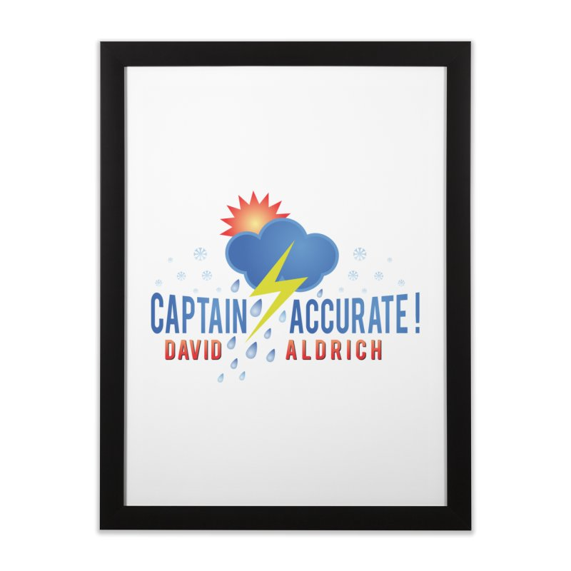 Captain Accurate Home Framed Fine Art Print by Captain Accurate's Artist Shop