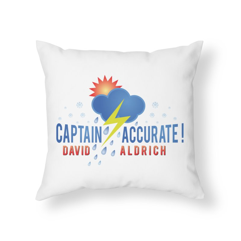 Captain Accurate Home Throw Pillow by Captain Accurate's Artist Shop