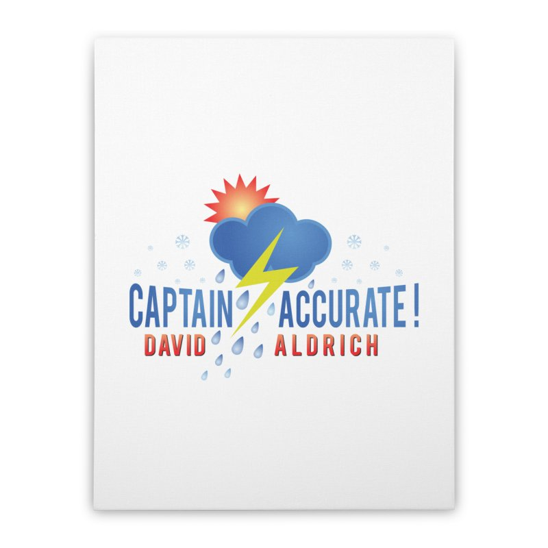 Captain Accurate Home Stretched Canvas by Captain Accurate's Artist Shop