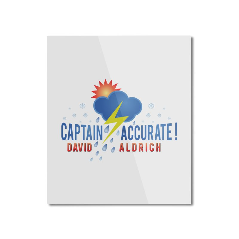 Captain Accurate Home Mounted Aluminum Print by Captain Accurate's Artist Shop
