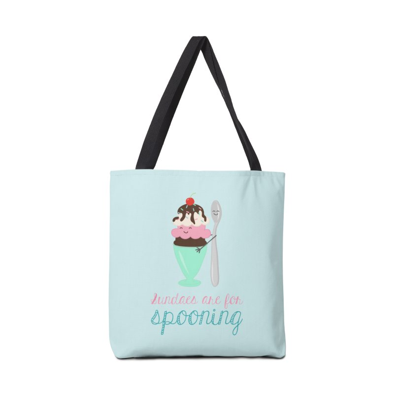 Sundaes are for Spooning Accessories Tote Bag Bag by CardyHarHar's Artist Shop