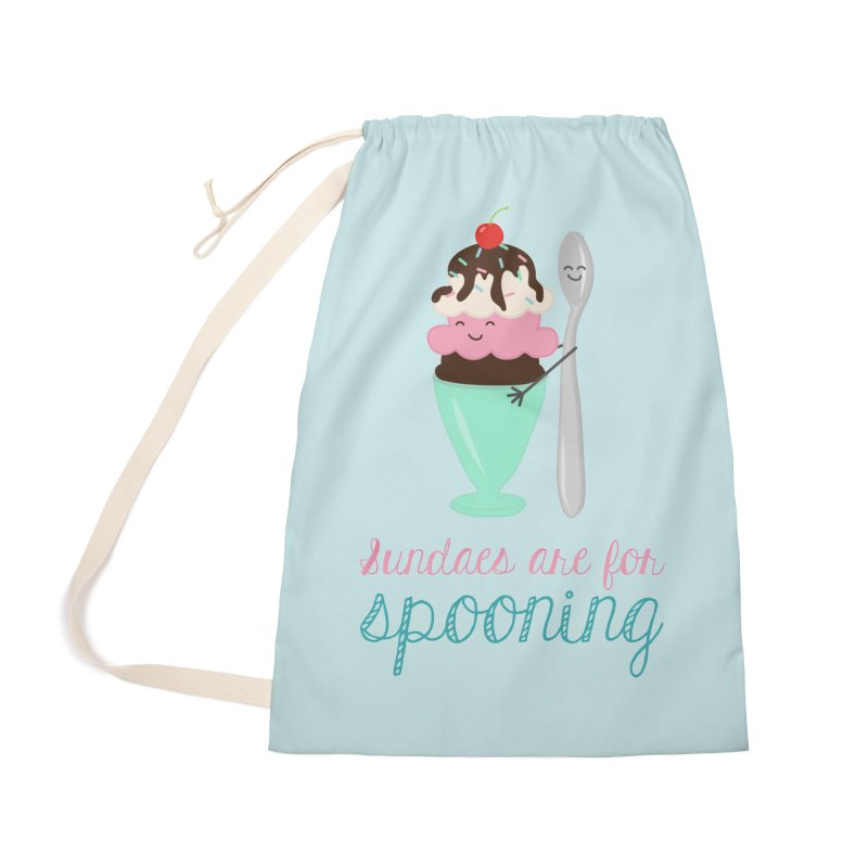 Sundaes are for Spooning Accessories Bag by CardyHarHar's Artist Shop