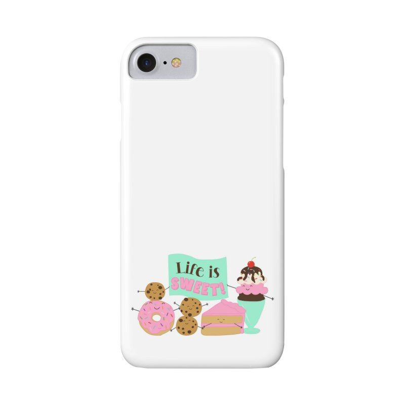 Life is Sweet Accessories Phone Case by CardyHarHar's Artist Shop