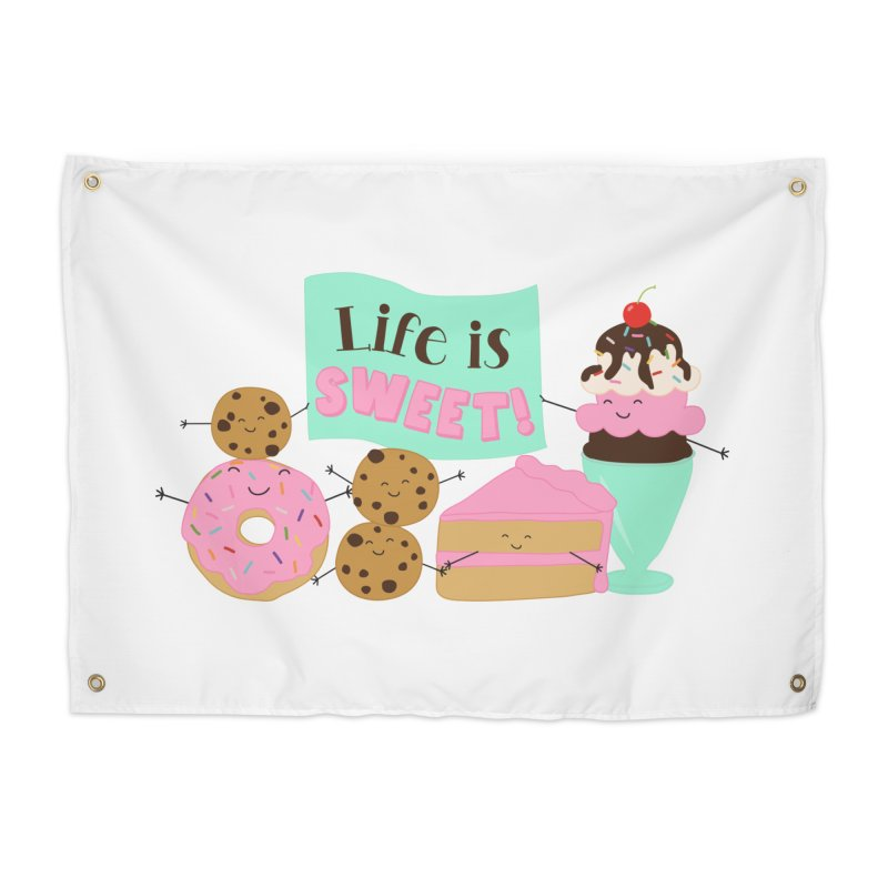 Life is Sweet Home Tapestry by CardyHarHar's Artist Shop