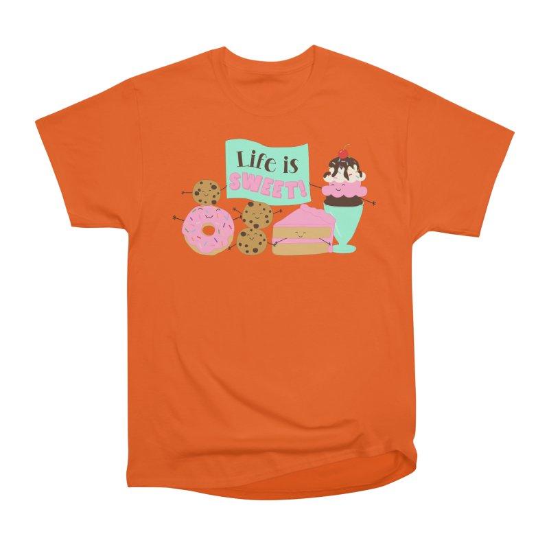 Life is Sweet Women's T-Shirt by CardyHarHar's Artist Shop