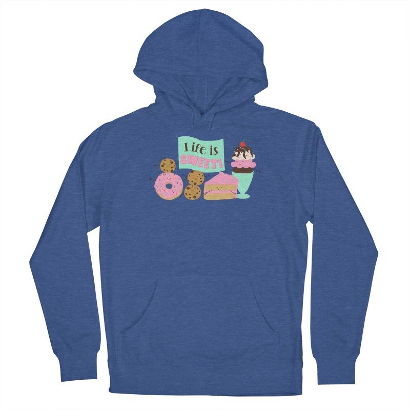 Life is Sweet Men's Pullover Hoody by CardyHarHar's Artist Shop
