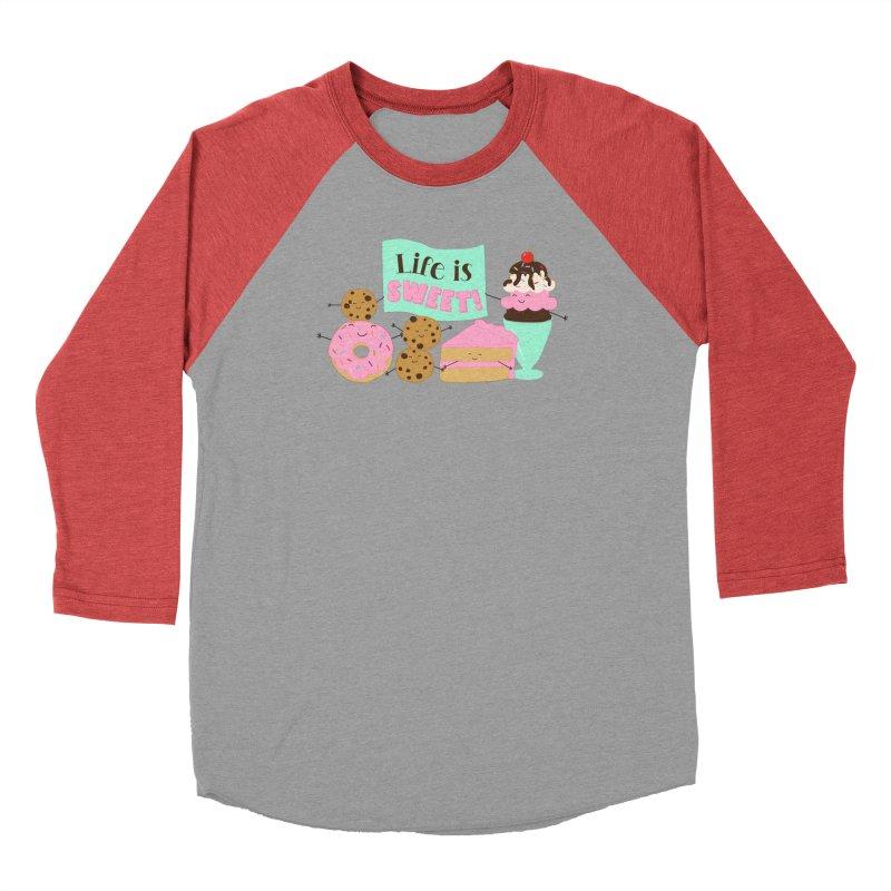 Life is Sweet Men's Longsleeve T-Shirt by CardyHarHar's Artist Shop