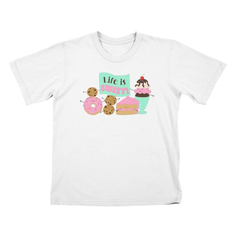 Life is Sweet Kids T-Shirt by CardyHarHar's Artist Shop