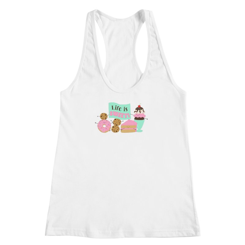 Life is Sweet Women's Tank by CardyHarHar's Artist Shop