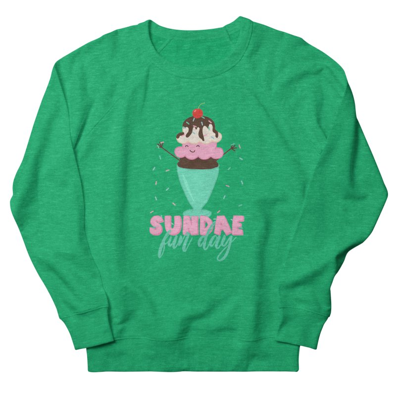 Sundae Fun Day Women's Sweatshirt by CardyHarHar's Artist Shop