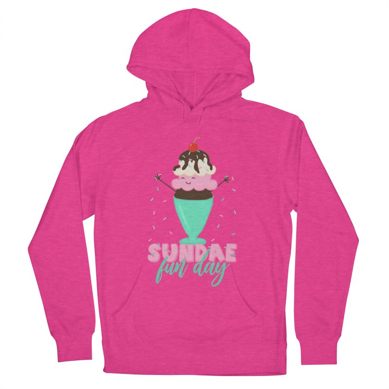Sundae Fun Day Men's French Terry Pullover Hoody by CardyHarHar's Artist Shop