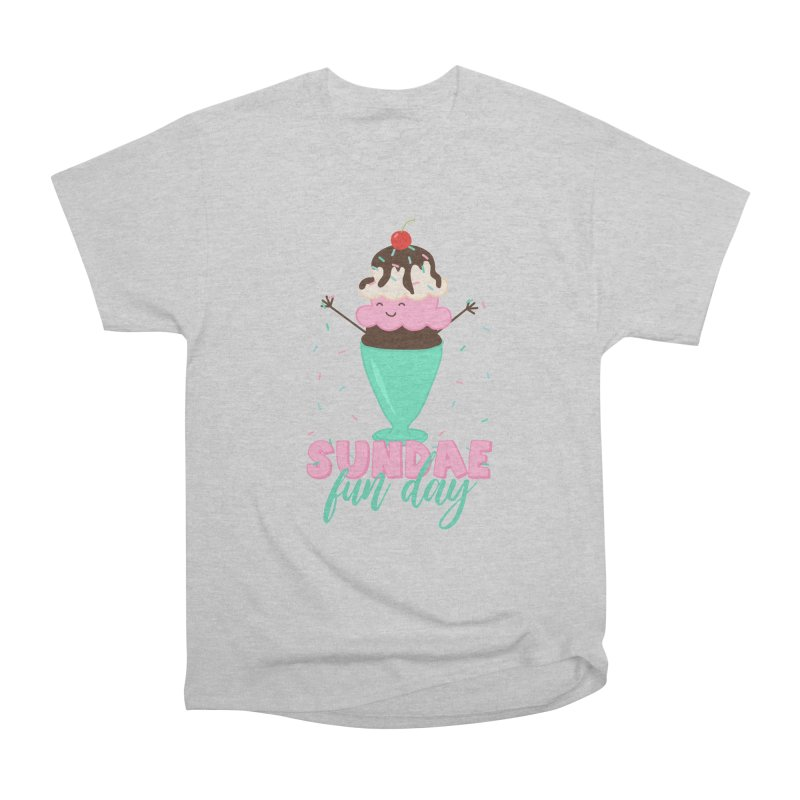 Sundae Fun Day Men's Heavyweight T-Shirt by CardyHarHar's Artist Shop