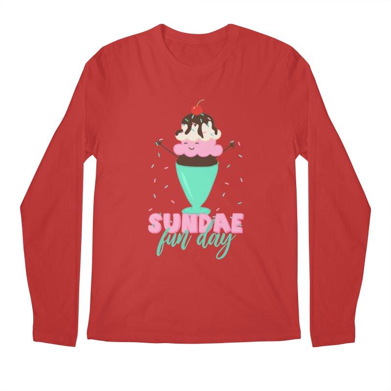 Sundae Fun Day Men's Regular Longsleeve T-Shirt by CardyHarHar's Artist Shop