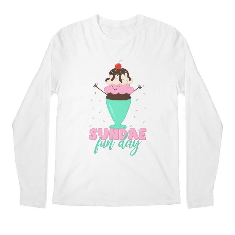 Sundae Fun Day Men's Regular Longsleeve T-Shirt by CardyHarHar's Artist Shop