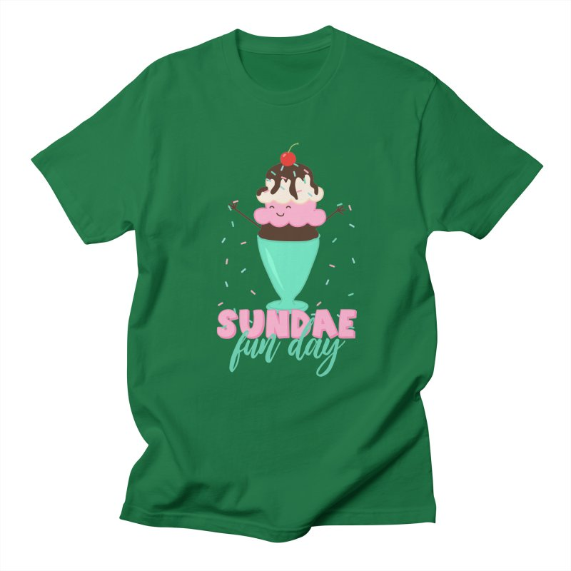 Sundae Fun Day Men's T-Shirt by CardyHarHar's Artist Shop