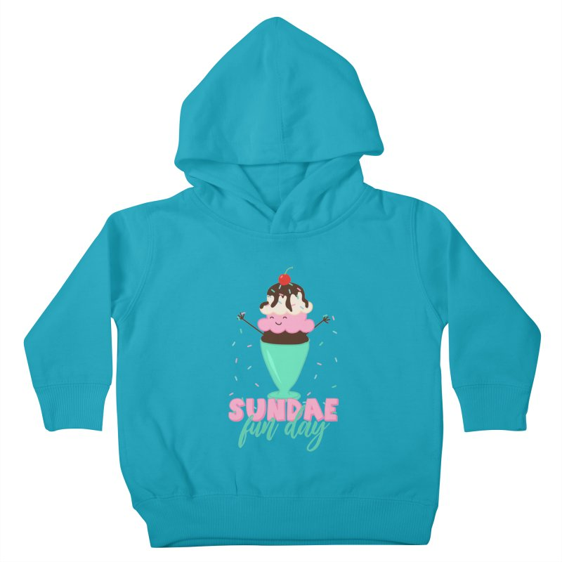 Sundae Fun Day Kids Toddler Pullover Hoody by CardyHarHar's Artist Shop