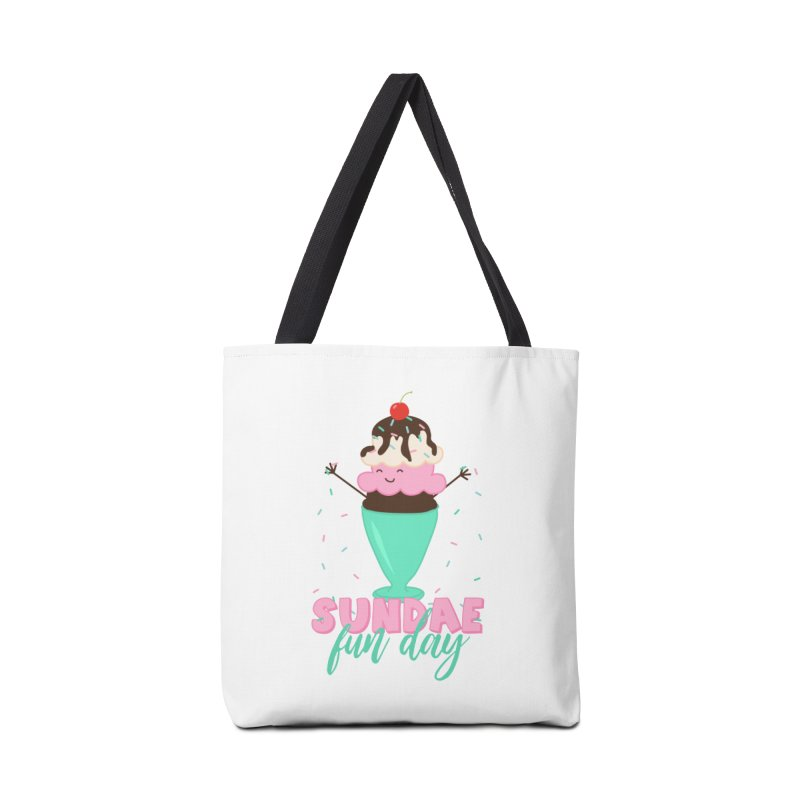 Sundae Fun Day Accessories Tote Bag Bag by CardyHarHar's Artist Shop