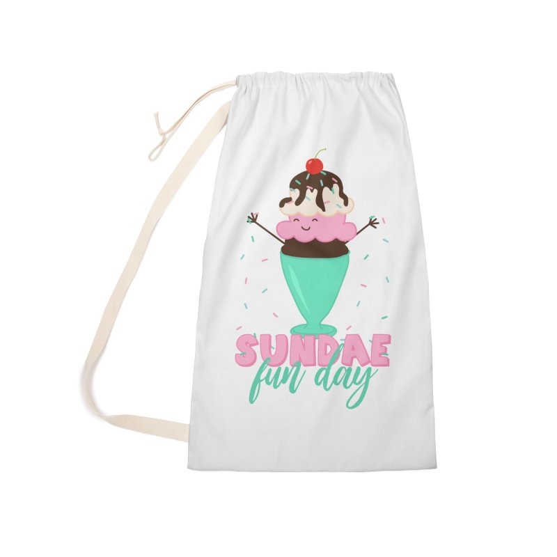Sundae Fun Day Accessories Laundry Bag Bag by CardyHarHar's Artist Shop
