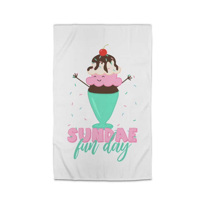 Sundae Fun Day Home Rug by CardyHarHar's Artist Shop