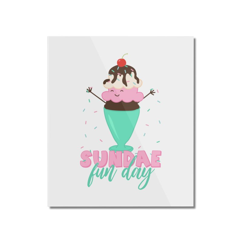 Sundae Fun Day Home Mounted Acrylic Print by CardyHarHar's Artist Shop