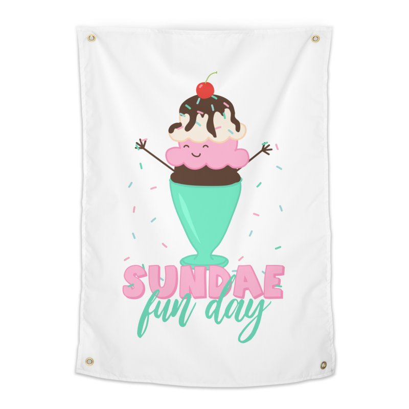 Sundae Fun Day Home Tapestry by CardyHarHar's Artist Shop