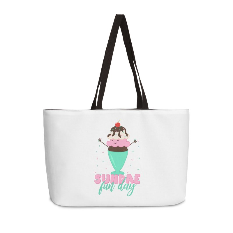 Sundae Fun Day Accessories Weekender Bag Bag by CardyHarHar's Artist Shop