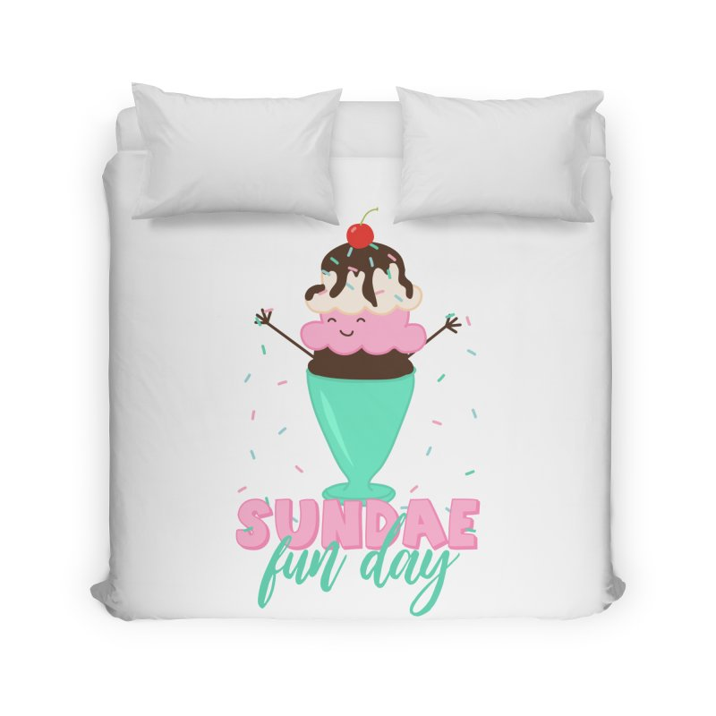 Sundae Fun Day Home Duvet by CardyHarHar's Artist Shop
