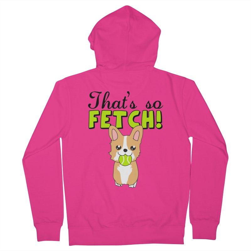 That's So Fetch Men's Zip-Up Hoody by CardyHarHar's Artist Shop