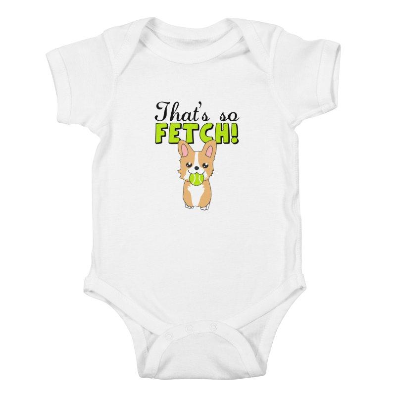 That's So Fetch Kids Baby Bodysuit by CardyHarHar's Artist Shop