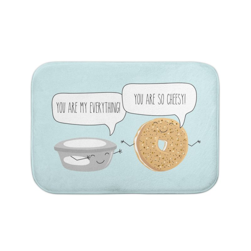 You Are My Everything Home Bath Mat by CardyHarHar's Artist Shop