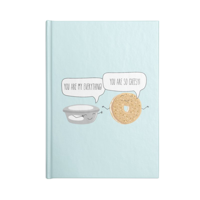 You Are My Everything Accessories Notebook by CardyHarHar's Artist Shop