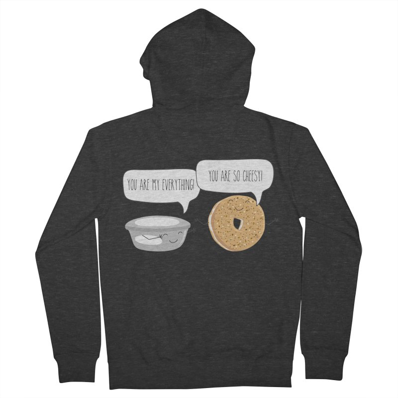 You Are My Everything Women's French Terry Zip-Up Hoody by CardyHarHar's Artist Shop