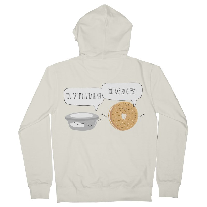 You Are My Everything Men's French Terry Zip-Up Hoody by CardyHarHar's Artist Shop
