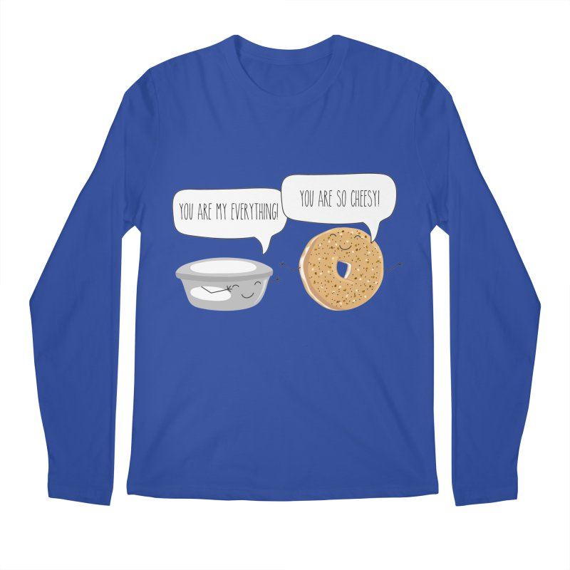 You Are My Everything Men's Regular Longsleeve T-Shirt by CardyHarHar's Artist Shop