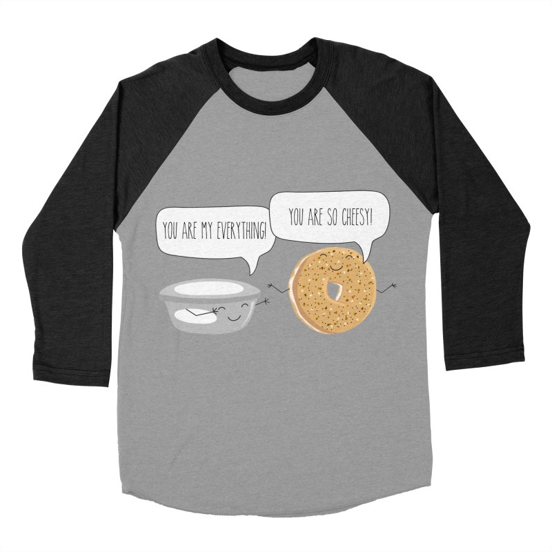 You Are My Everything Men's Baseball Triblend Longsleeve T-Shirt by CardyHarHar's Artist Shop