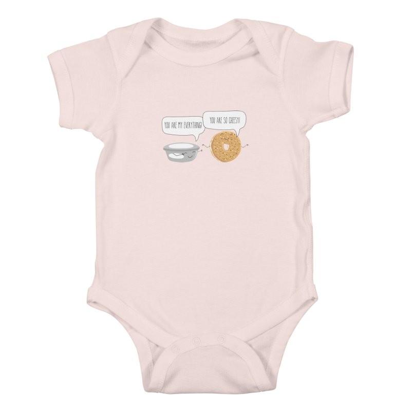 You Are My Everything Kids Baby Bodysuit by CardyHarHar's Artist Shop