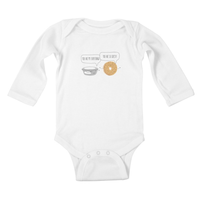 You Are My Everything Kids Baby Longsleeve Bodysuit by CardyHarHar's Artist Shop