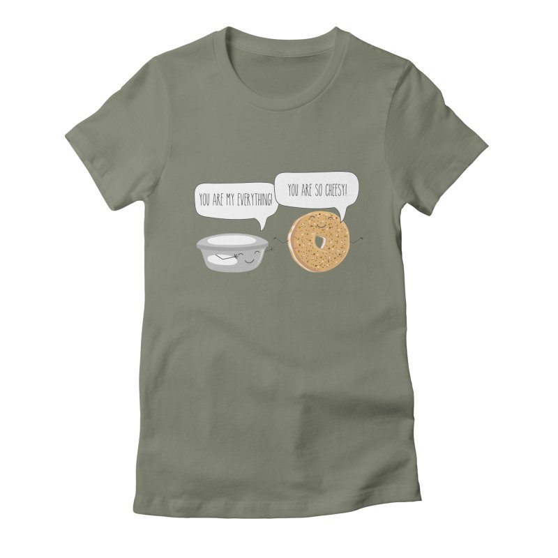 You Are My Everything Women's T-Shirt by CardyHarHar's Artist Shop