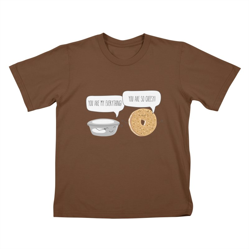 You Are My Everything Kids T-Shirt by CardyHarHar's Artist Shop