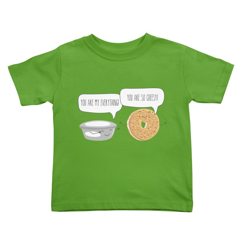 You Are My Everything Kids Toddler T-Shirt by CardyHarHar's Artist Shop