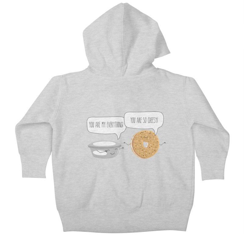 You Are My Everything Kids Baby Zip-Up Hoody by CardyHarHar's Artist Shop