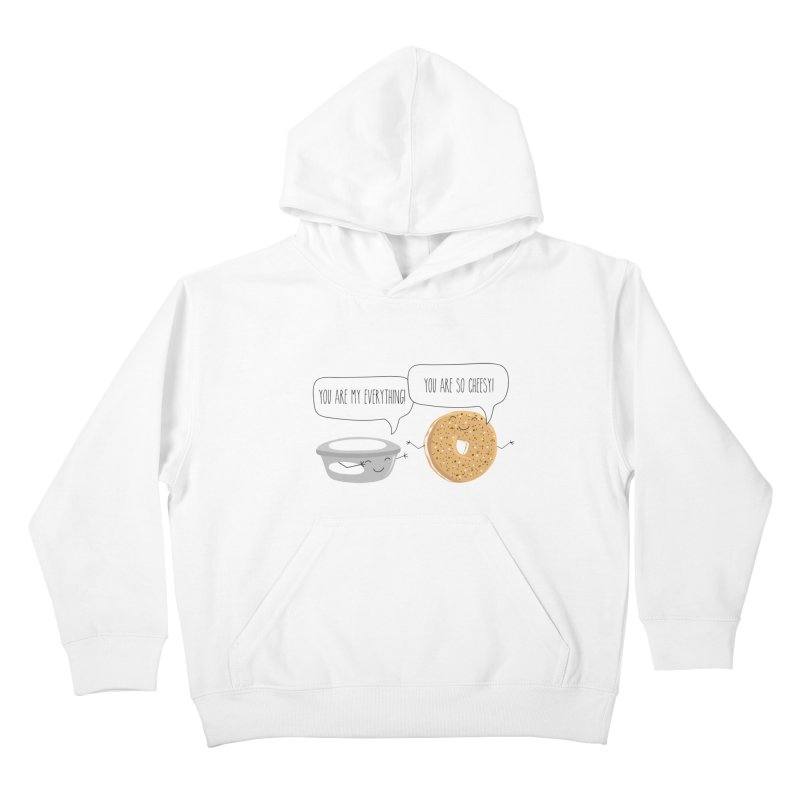 You Are My Everything Kids Pullover Hoody by CardyHarHar's Artist Shop