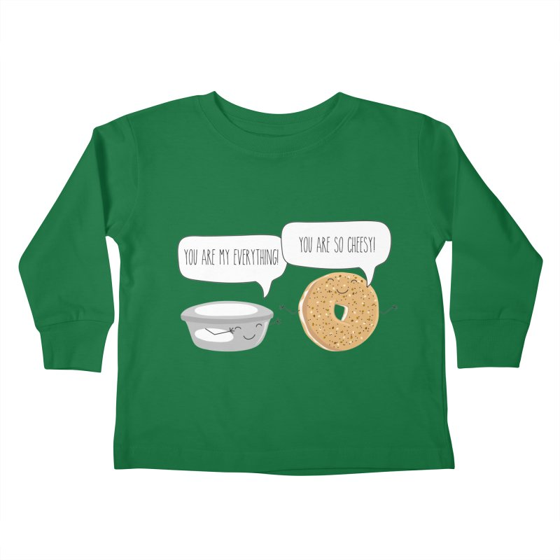 You Are My Everything Kids Toddler Longsleeve T-Shirt by CardyHarHar's Artist Shop