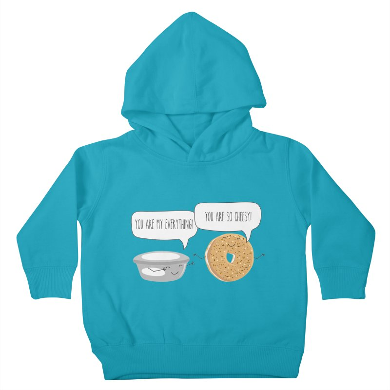 You Are My Everything Kids Toddler Pullover Hoody by CardyHarHar's Artist Shop