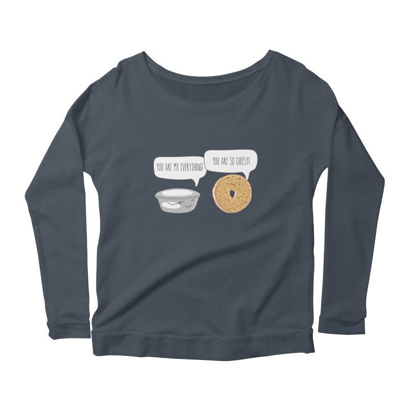You Are My Everything Women's Scoop Neck Longsleeve T-Shirt by CardyHarHar's Artist Shop